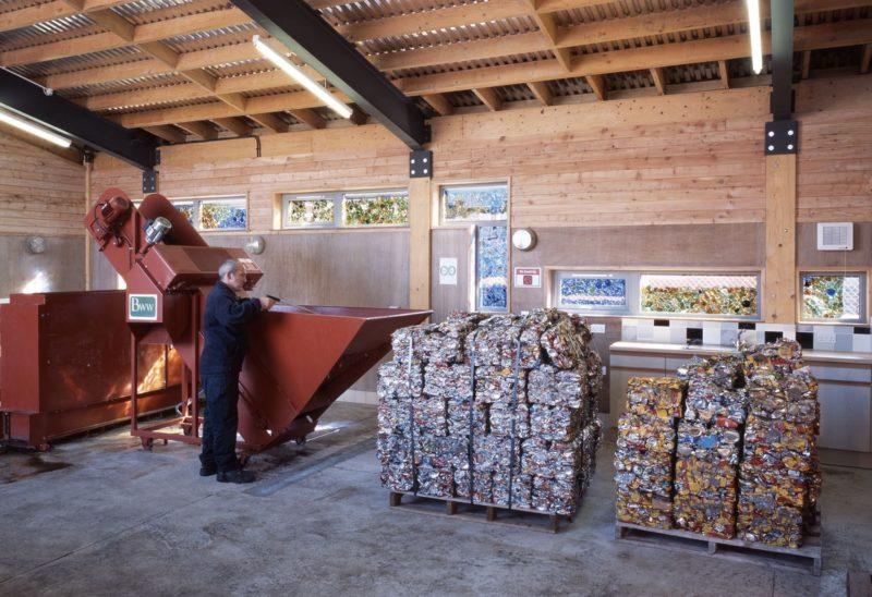 Bute Recycling Process